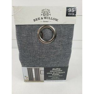 Bee & Willow Hadley Grommet 100% Blackout Curtain